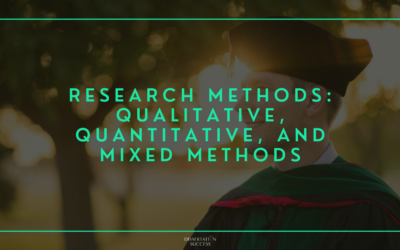 Research Methods: Qualitative, Quantitative, and Mixed Methods